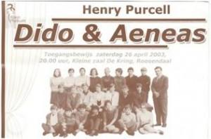 Programma boekje Dido & Aeneas