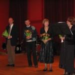 applaus na afloop van de recital