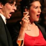 Emilie de Voght en Marcel Schouten in het Libiamo uit La Traviata van Verdi